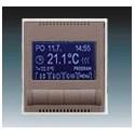 Termostat univerzální programovatelný (ovládací jednotka) lungo/mléčná bílá ABB Time 3292E-A10301 26