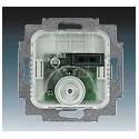 Přístroj termostatu s otočným ovladačem, pro podlahové vytápění, 16 A 1032-0-0498 ABB