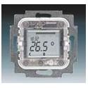 Přístroj termostatu s týdenními spínacími hodinami, pro podlah. vytápění 1032-0-0509 ABB 2CKA001032A0509