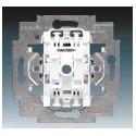 Přístroj spínače žaluziového kolébkového, řazení 1+1 s blokováním bezšroubový 3559-A89345 ABB