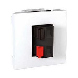 Svorky pro připojení reproduktorů, polar MGU3.486.18 UNICA Schneider Electric