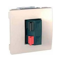 Svorky pro připojení reproduktorů, marfil MGU3.486.25 UNICA Schneider Electric