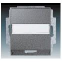 Kryt zásuvky komunikační (pro nosnou masku) ocelová ABB Time 5014E-A00100 36