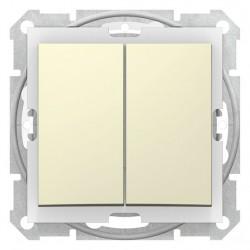 Přepínač sériový, ř. 5, biege SDN0300147 SEDNA Schneider Electric