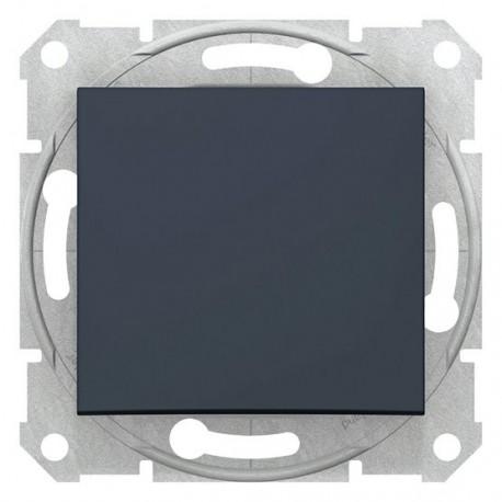 Střídavé tlačítko, ř.6, 10A, grafit SDN0420170 SEDNA Schneider Electric