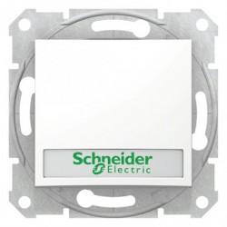 Ovládač tlačítkový s orientační kontrolkou s držákem štítku, ř. 1/0So, polar SDN1600321 SEDNA Schneider Electric