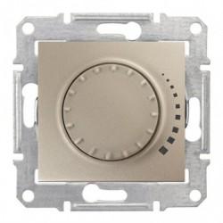 Stmívač otočný tlač. RL 60-500W/VA, ř. 6, titan SDN2200568 SEDNA Schneider Electric