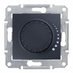 Stmívač otočný tlač. RL 60-500W/VA, ř. 6, graphite SDN2200570 SEDNA Schneider Electric