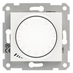Stmívač otočný, tlačítkové spínání, RL 40-1000 W/VA, ř. 1, polar SDN2200921 SEDNA Schneider Electric