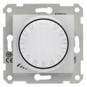 Stmívač otočný, tlačítkové spínání, RL 40-1000 W/VA, ř. 1, alu SDN2200960 SEDNA Schneider Electric