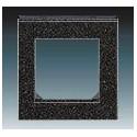 Rámeček jednonásobný onyx/kouřová černá ABB Levit 3901H-A05010 63