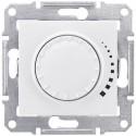 Stmívač otočný tlač. RL 60-500W/VA, ř. 6, polar SDN2200521 SEDNA Schneider Electric
