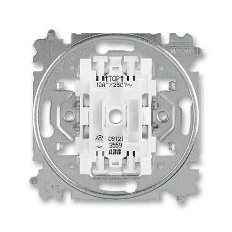 Přístroj vypínače, přepínače sériového, č.5 bezšroubový 3559-A05345 ABB