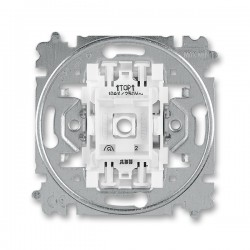 Přístroj vypínače, spínače jednopólového, č.1, 1So bezšroubový 3559-A01345 ABB