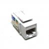 Zásuvka datová bílá, RJ45 CAT.6E UTP nestíněný, KSL6UTP-S