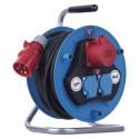 Prodlužovací kabel 25m na bubnu 3 zásuvky H07RN-F 3x1,5mm GUMA P193250 Emos