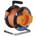 Prodlužovací kabel 50m na bubnu 1 zásuvka H05VV-F 3x1,5mm PVC P19150 Emos