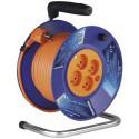 Prodlužovací kabel 50m na bubnu 4 zásuvky H05VV-F 3x1,5mm PVC P19450 Emos