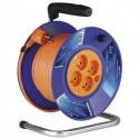 Prodlužovací kabel 30m na bubnu 4 zásuvky H05VV-F 3X1 PVC P19430 Emos