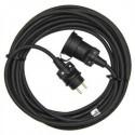 Prodlužovací kabel 10m 1 zásuvka IP65 3X1,5 GUMOVÝ H05RR-F PM0501 Emos