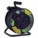 Prodlužovací kabel 25m na bubnu 4 zásuvky IP44 H07RN-F 3X2,5 GUMOVÝ P084253 Emos