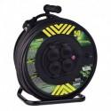 Prodlužovací kabel 50m na bubnu 4 zásuvky IP44 H07RN-F 3X2,5 GUMOVÝ P084503 Emos