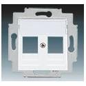 Kryt zásuvky komunikační bílá ABB Levit 5014H-A01018 03