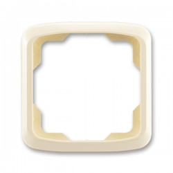 Rámeček jednonásobný slonová kost ABB Tango 3901A-B10 C