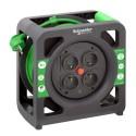 Prodlužovací kabel na bubnu 15m PVC 3G1,5 IP20 - kompakt, IMT33139 Schneider Electric