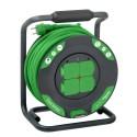 Prodlužovací gumový kabel na bubnu 25m 3G2,5 IP44 - advanced, IMT33150 Schneider Electric