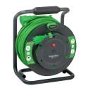 Prodlužovací gumový kabel na bubnu 25m 3G2,5 IP44 - spojka, IMT33153 Schneider Electric