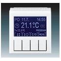 Termostat univerzální programovatelný (ovládací jednotka) bílá/ledová bílá ABB Levit 3292H-A10301 01