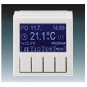 Termostat univerzální programovatelný (ovládací jednotka) šedá/bílá ABB Levit 3292H-A10301 16