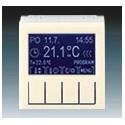 Termostat univerzální programovatelný (ovládací jednotka) slonová kost/bílá ABB Levit 3292H-A10301 17