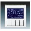 Termostat univerzální programovatelný (ovládací jednotka) bílá/kouřová černá ABB Levit 3292H-A10301 62