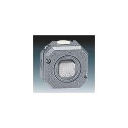 Spínač jednopólový, řazení 1, Al, IP66 šedá ABB Garant 3558-01750