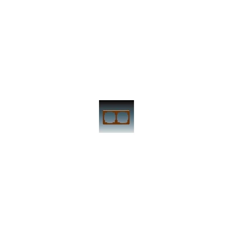 ABB s.r.o. Rámeček dvojnásobný (pro vodorovnou i svislou montáž) hnědá ABB Swing 3901G-A00020 H1