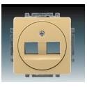 Kryt zásuvky komunikační béžová ABB Swing 5014G-A01018 D1