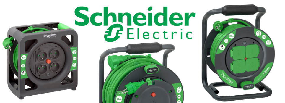 Kabelové bubny Schneider electric