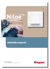 Katalog Legrand Niloé