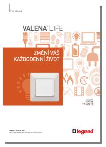 Katalog Legrand Valena Life