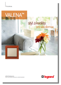 Katalog Legrand Valena